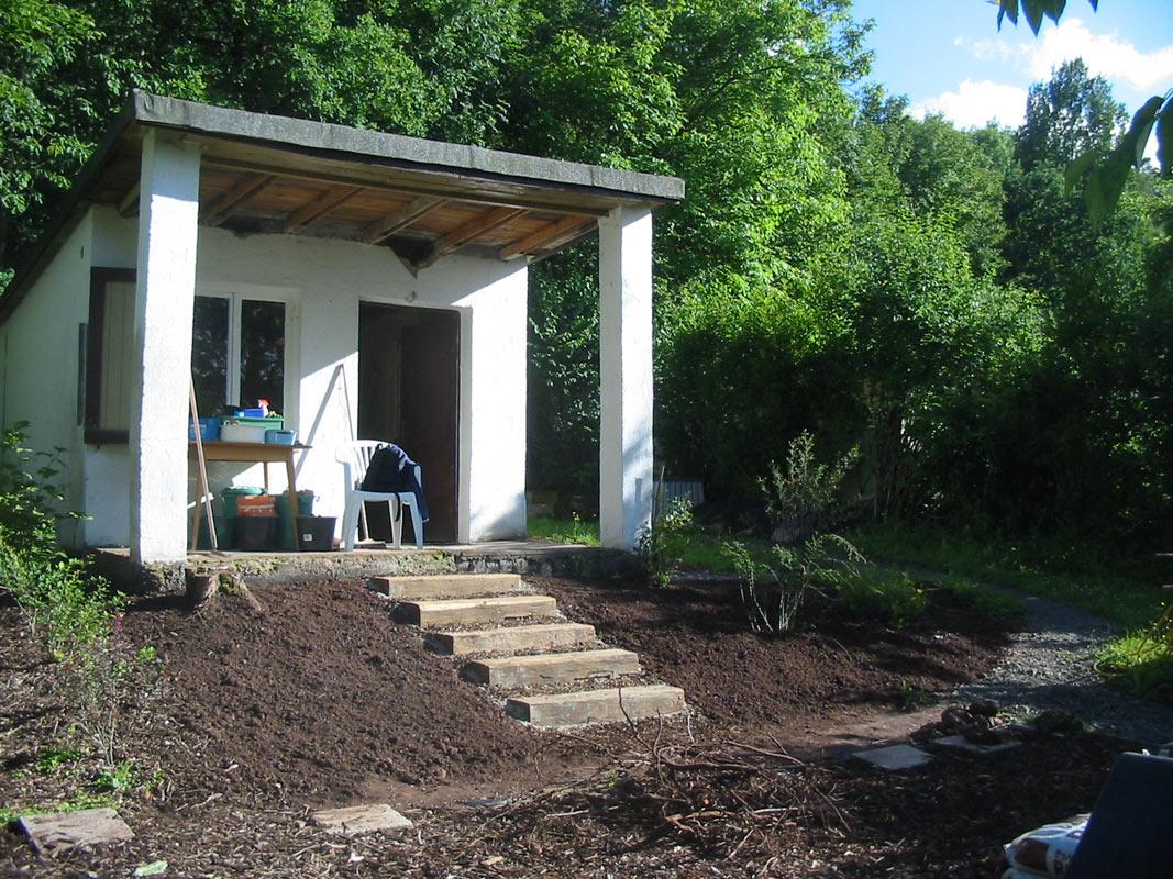 treppe bg naturgarten. Black Bedroom Furniture Sets. Home Design Ideas