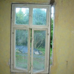 neues Fenster von innen