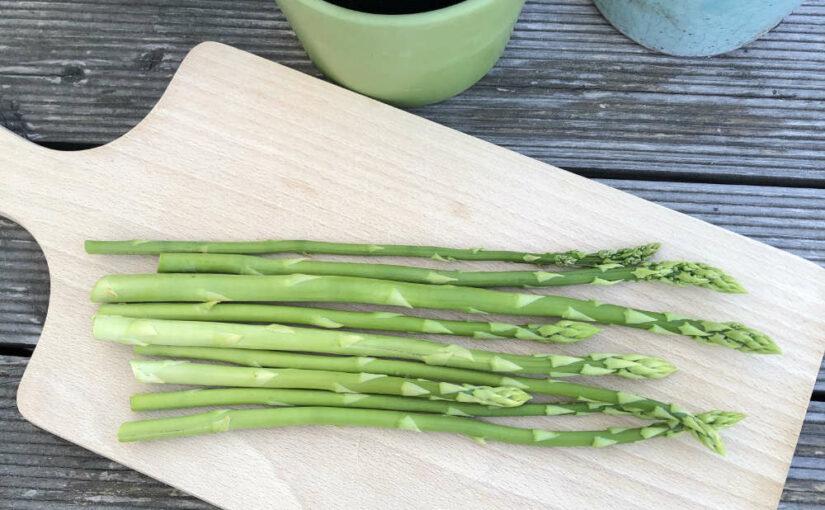 Grünspargel: erste Ernte